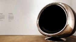 비행기 엔진으로 만든 의자가