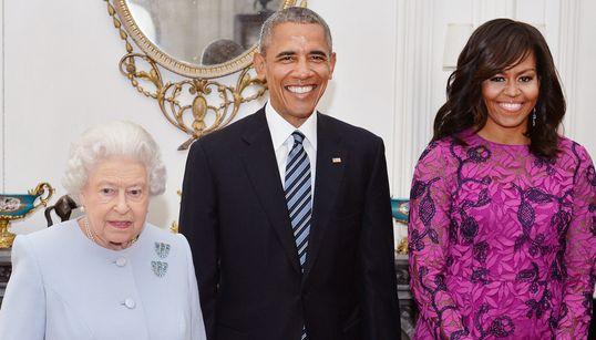 70장의 사진으로 보는 오바마 영국