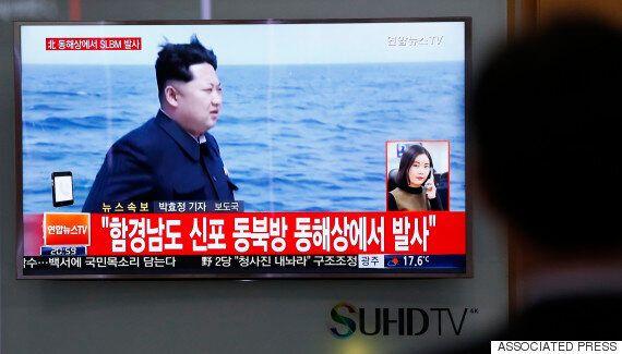 북한, 동해에서 '잠수함 미사일' 1발
