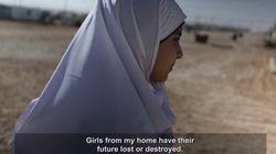 난민 캠프에서 아동 결혼과 맞서 싸우는 십대가