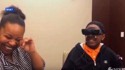태어나서 엄마를 처음 보게 된 시각장애인
