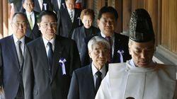 일본 각료·여야의원 야스쿠니신사