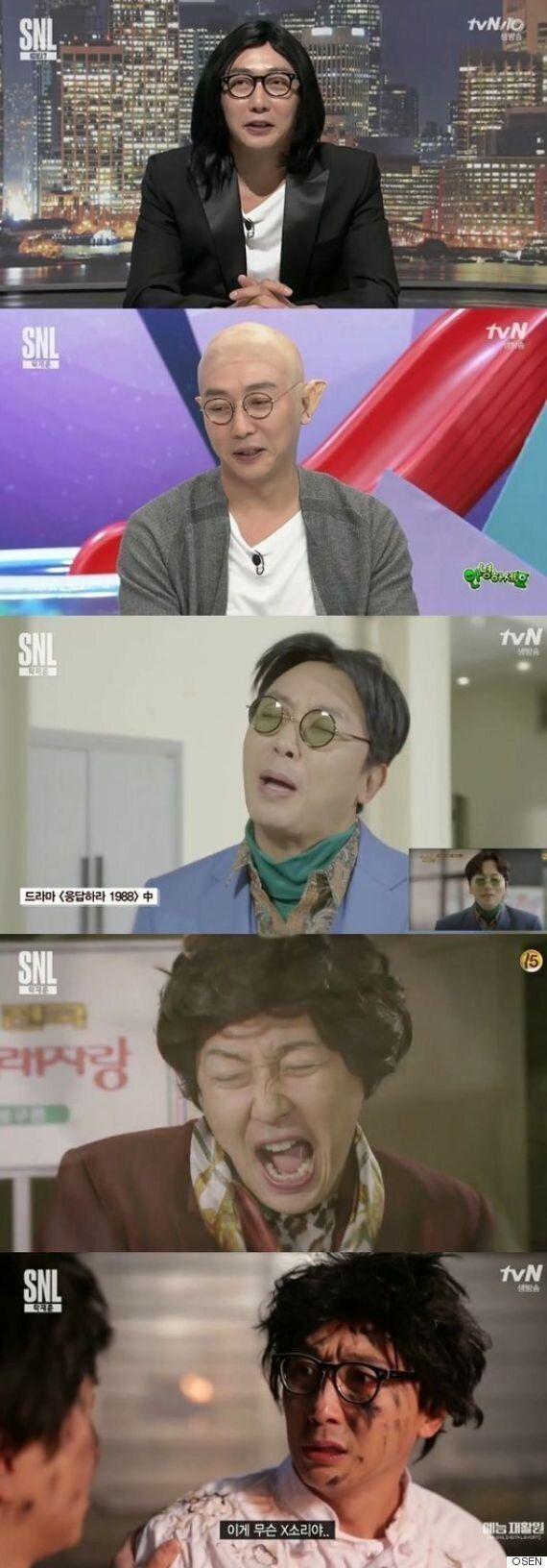 탁재훈 'SNL 7' 출연해 셀프
