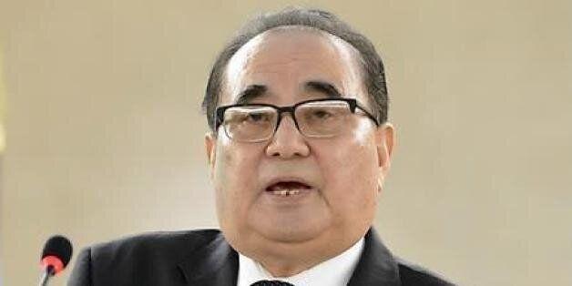 북한 외무상이 밝힌 '핵 개발'을 하는 불가피한