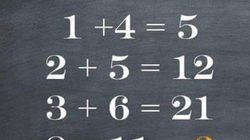1000명 중 1명 정도가 풀 수 있다는 이 수학 퀴즈를