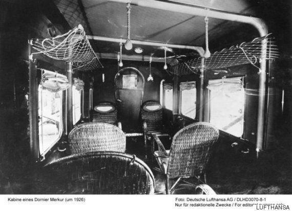 90년 전 비행기의 객실 내부는 이렇게 생겼다(사진