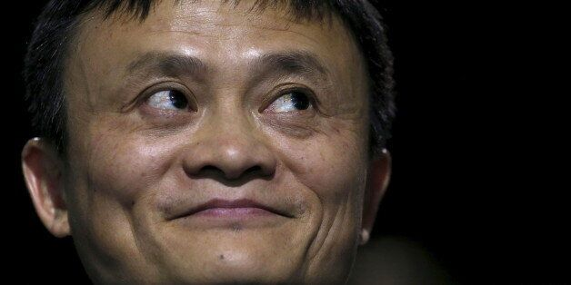 Alibaba Executive Chairman Jack Ma attends the World Climate Change Conference 2015 (COP21) at Le Bourget,...
