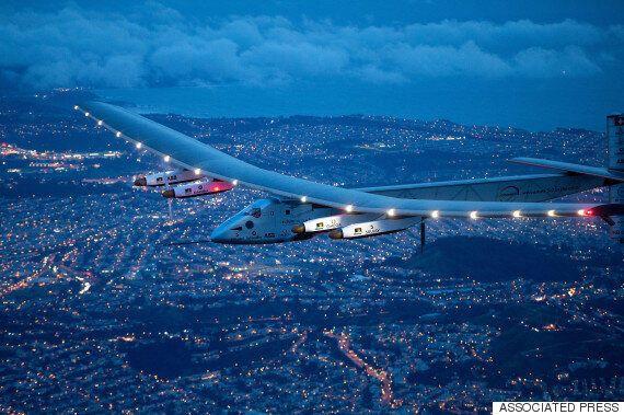100% 태양광 비행기가 하와이에서 샌프란시스코까지