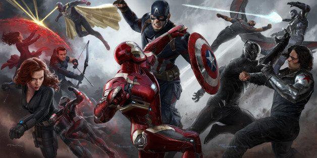 '캡틴 아메리카 : 시빌 워' 개봉 첫날 흥행 신기록을