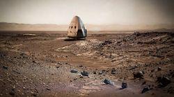 일론 머스크, 2018년에 화성 무인탐사선