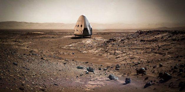 일론 머스크, 2018년에 스페이스X를 화성에 보내겠다고