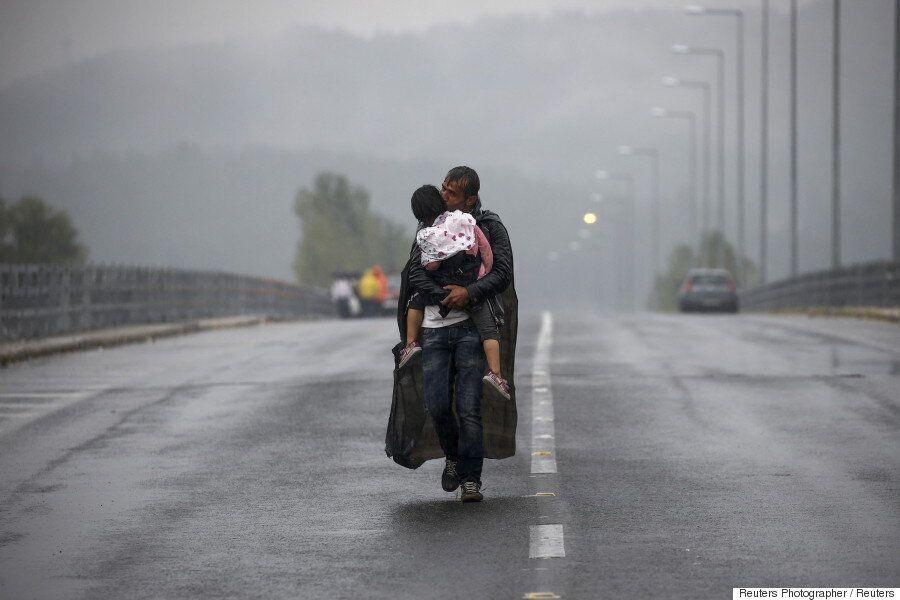 [화보] 그리스 사진작가들이 포착한 난민 사진이 퓰리처상을