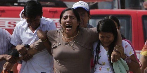 52장의 사진으로 보는 '에콰도르 강진