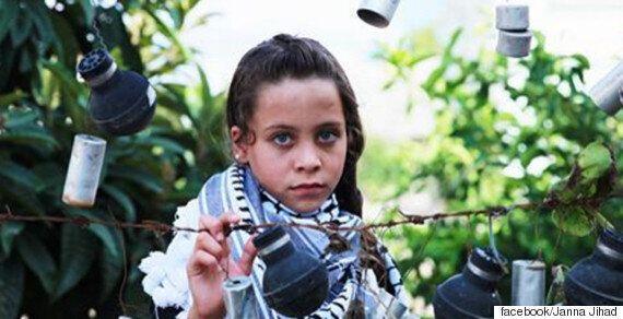 팔레스타인 10살 소녀 잔나