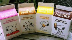 핫식스 5배, 스누피 커피우유의 위력은?
