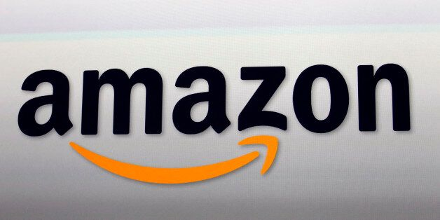 FILE - This Sept. 6, 2012, file photo, shows the Amazon logo in Santa Monica, Calif. Amazon is taking...
