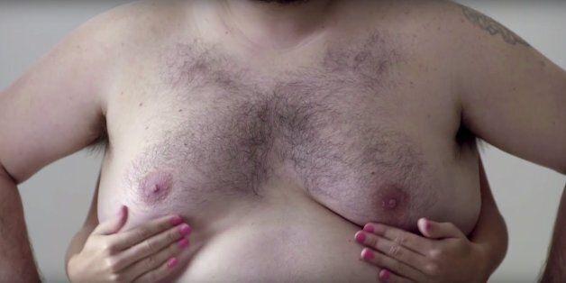 (페이스북의 검열을 피하기 위해) 남성의 유방으로 알아보는 유방암