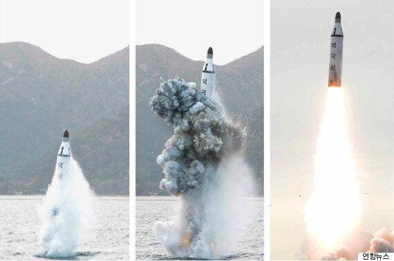 유엔 안보리가 북한 SLBM 실험을 강력