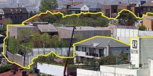 한국에서 가장 비싼 집은 이건희 삼성 회장의