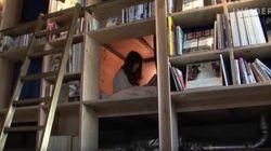 일본에서 화제가 된 '책장