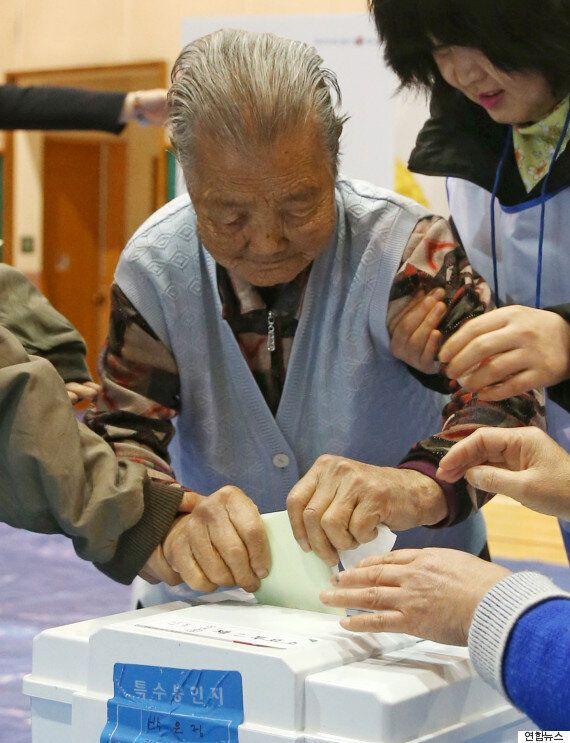 투표 참여한 103세 할머니의 강력한 한 마디(사진