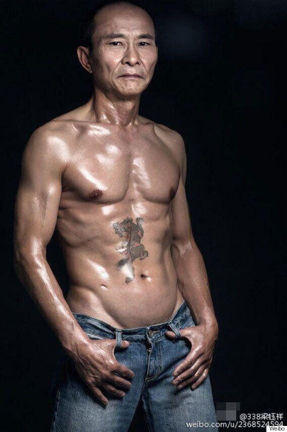 이 60대 남성이 식스팩을 유지하는 이유