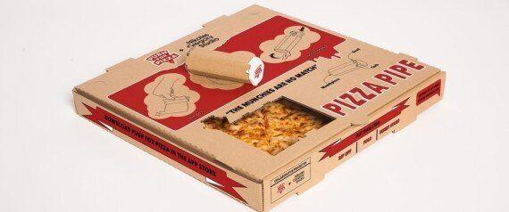 마리화나 파이프로 변신하는 피자 박스가
