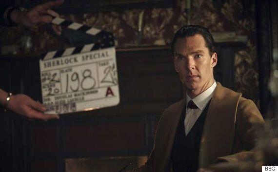 '셜록 시즌 4'의 촬영 시작을 알리는 티저