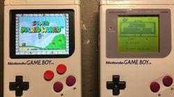 27년 된 닌텐도 '겜보이'를 개조해 'PSP'처럼 쓰는