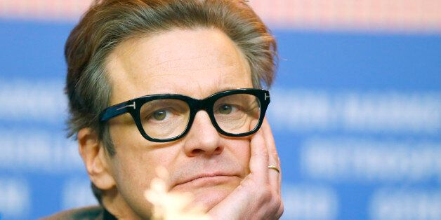 Actor Colin Firth attends a news conference to promote the movie 'Genius' at the 66th Berlinale International...