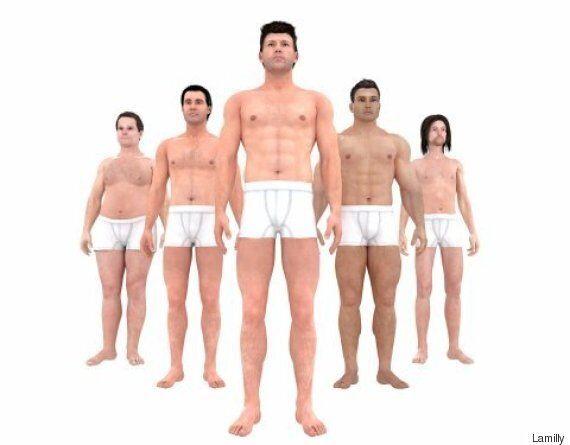'완벽한' 남성의 몸매는 지난 150년간 이렇게 변했다