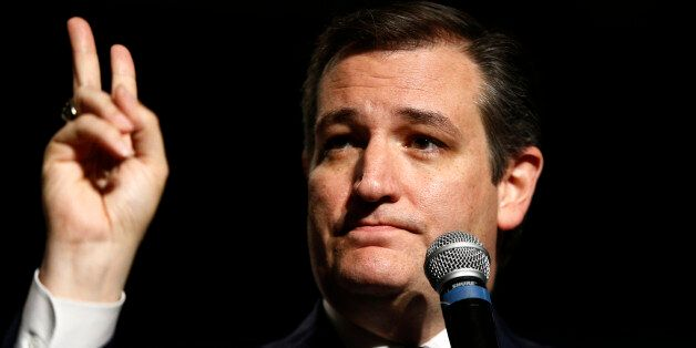 Republican presidential candidate, Sen. Ted Cruz, R-Texas speaks at the Pennsylvania Leadership Conference,...