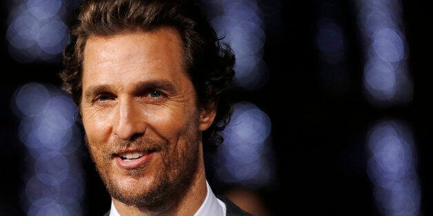 Actor Matthew McConaughey arrives for the European premiere