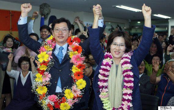 더불어민주당, 노무현 전 대통령 고향 김해에서 '4대0' 완승을
