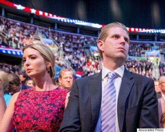 트럼프의 자녀 둘이 아빠에게 표를 주지 못하는