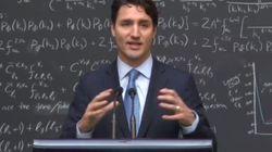 캐나다 총리가 물리학자들 앞에서 '퀀텀 컴퓨팅'을