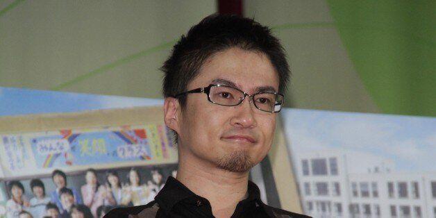TAIWAN, CHINA - APRIL 23: (CHINA MAINLAND OUT) Japanese writer Hirotada Ototake shared positive spirits...