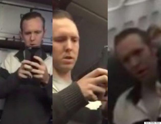 비행기에서 자신이 4백만 달러를 번다며 다른 승객을 모욕한