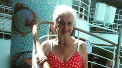 비키니에 나이 제한은 없다는 걸 증명한 90세