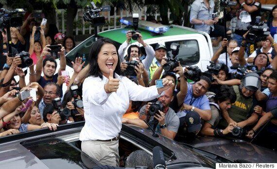 독재자의 딸 게이코 후지모리가 페루 대선 선두에