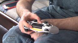 뇌성마비 환자를 위해 컨트롤러를 개조해 준 플레이스테이션