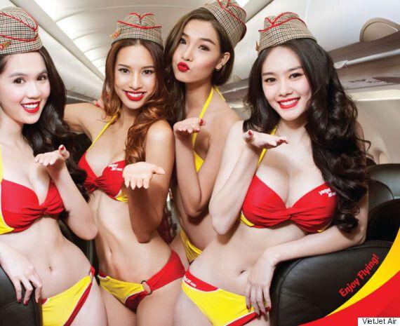 이 베트남 항공사는 승무원들에게 비키니를