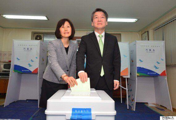 국민의당, 정당투표서 더민주 앞설 수