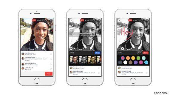 페이스북, 동영상 생중계 '페이스북 라이브' 기능