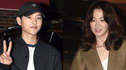 송중기와 송혜교, 홍콩에서 파파라치 소동을