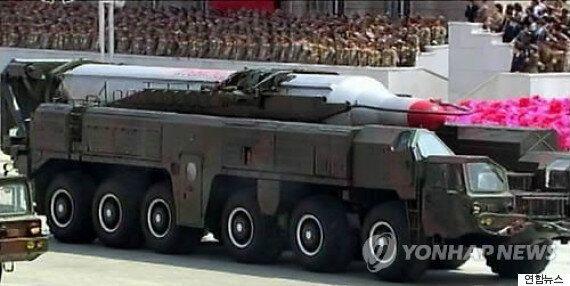북한, 태양절 맞아 중거리 미사일을