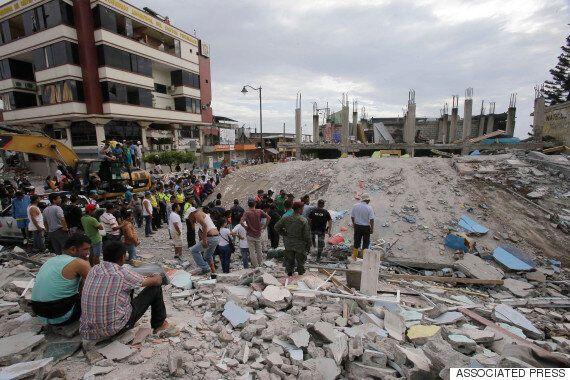 에콰도르 강진에 246명 이상