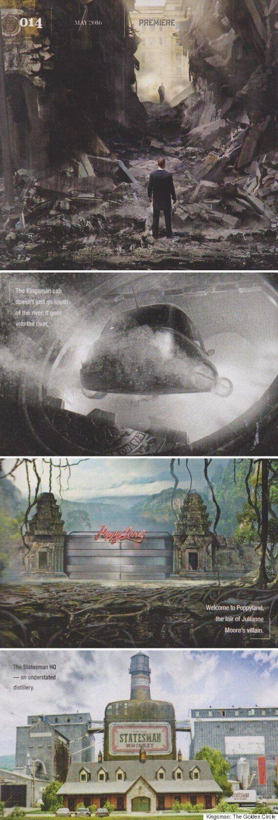 [Oh!llywood] '킹스맨2' 타이틀은 '킹스맨:골든 서클'..컨셉아트