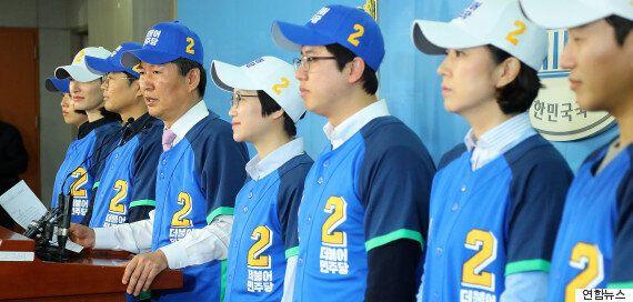 [화보] 정청래·김광진·장하나 등 더불어민주당 '공천 탈락자'들이 '더컸유세단'을