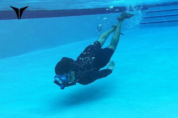 '인공 아가미'로 물속을 자유롭게
